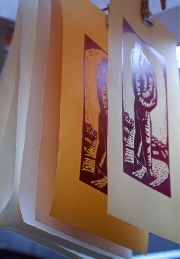 Olga Rogachevskaya's prints