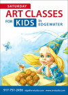 Children's art classes in NJ
