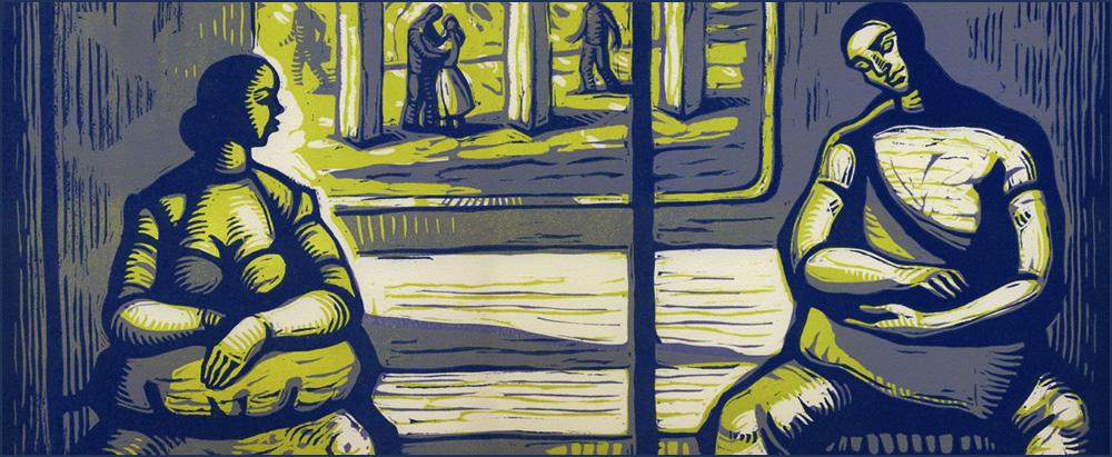 Olga Rogachevskaya's prints-strangers