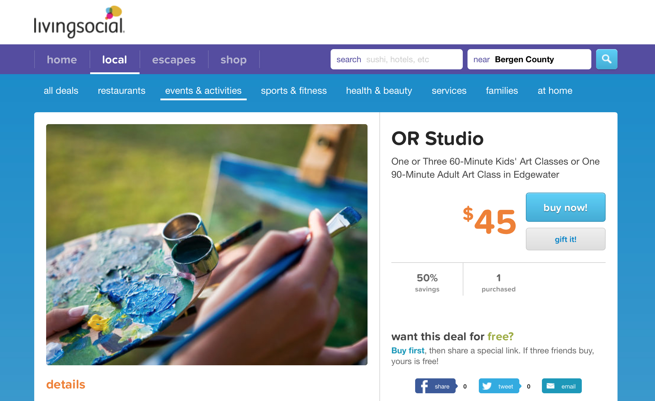 OR Studio on LivingSocial