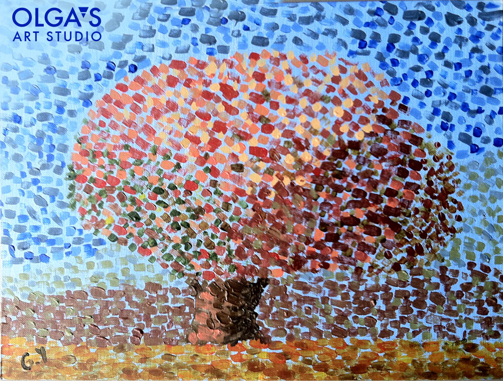 pointillism by George