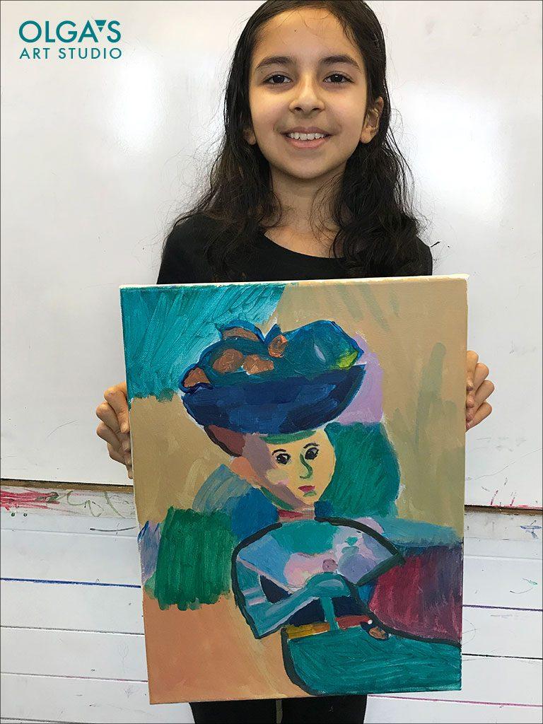 Study of Henri Matisse painting