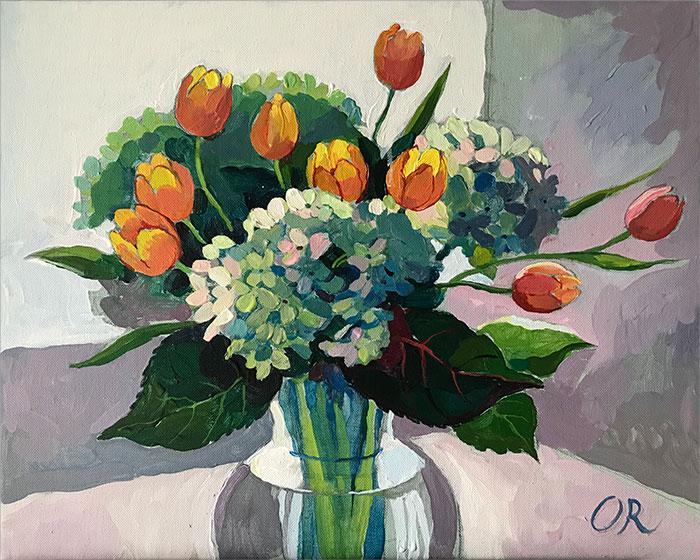 painting by Olga Rogachevskaya